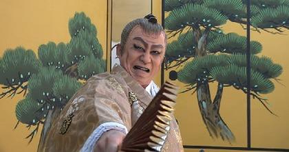 松本幸四郎が贈る「図夢歌舞伎『忠臣蔵』」、副音声付のアーカイブ配信&幸四郎・染五郎・猿弥による「歌舞伎家話特別編」が決定