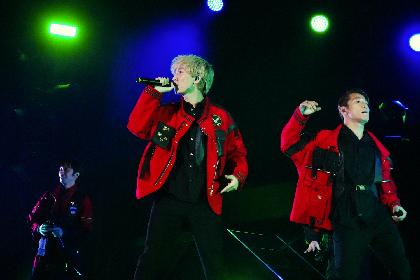 w-inds. 10年ぶりの台湾単独公演で新曲「DoU」を世界初披露、YouTubeにて「DoU」MVとライブ映像トレーラーを公開