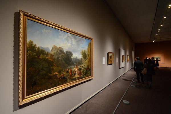 手前/ニコラ・アントワーヌ・トーネー 《アルカディアの牧人たち》 1804年頃 (C)The Pushkin State Museum of Fine Arts, Moscow.