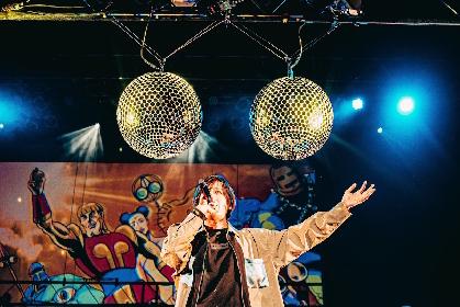 ふたつの金の玉をミラーボールで表現 オメでたい頭でなにより、カバー曲「金太の大冒険」ライブ映像を公開