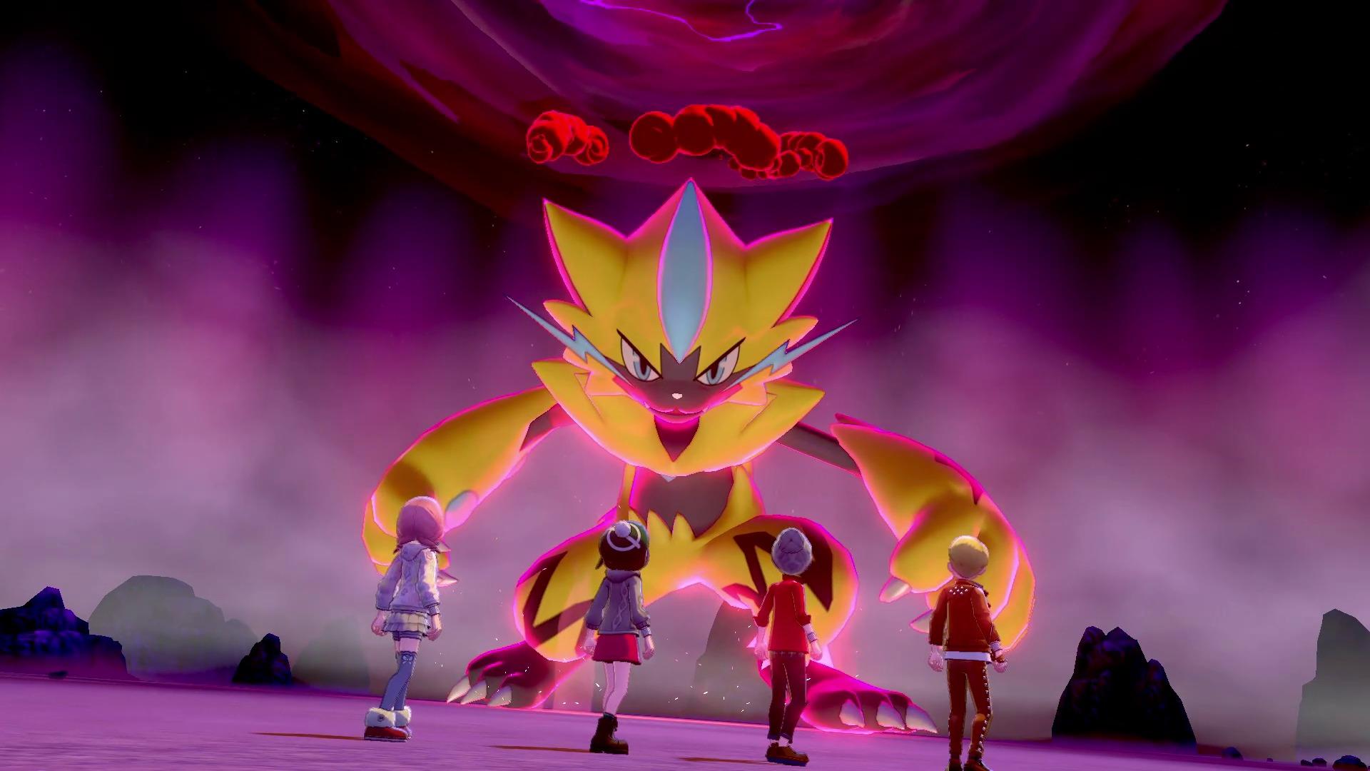 通常ゼラオラ ※画面は開発中のものです。 (C)2020 Pokémon. (C)1995-2020 Nintendo/Creatures Inc. /GAME FREAK inc.