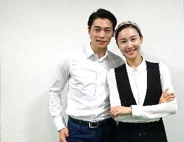 朱鷺と人間の愛の舞劇『朱鷺』日本ツアー決定、上海歌舞団プリンシパル朱潔静&王佳俊が大阪で見どころを語った
