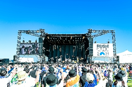 KEYTALK『RUSH BALL 2021』ライブレポート ーー胸騒ぎが止まらないノリの良いメロディーで踊りまくりなライブ