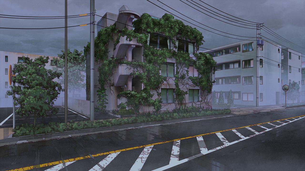 背景 (C)2020 劇場版「SHIROBAKO」製作委員会