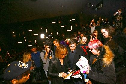 YOSHIKIにドクターストップ アイスランドでの『WE ARE X』舞台挨拶が急遽キャンセルに