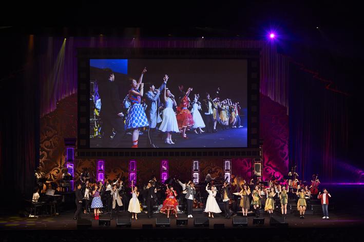 Presentation licensed by Disney Concerts. (C) Disney 「Friends of Disney Concert 2018より」