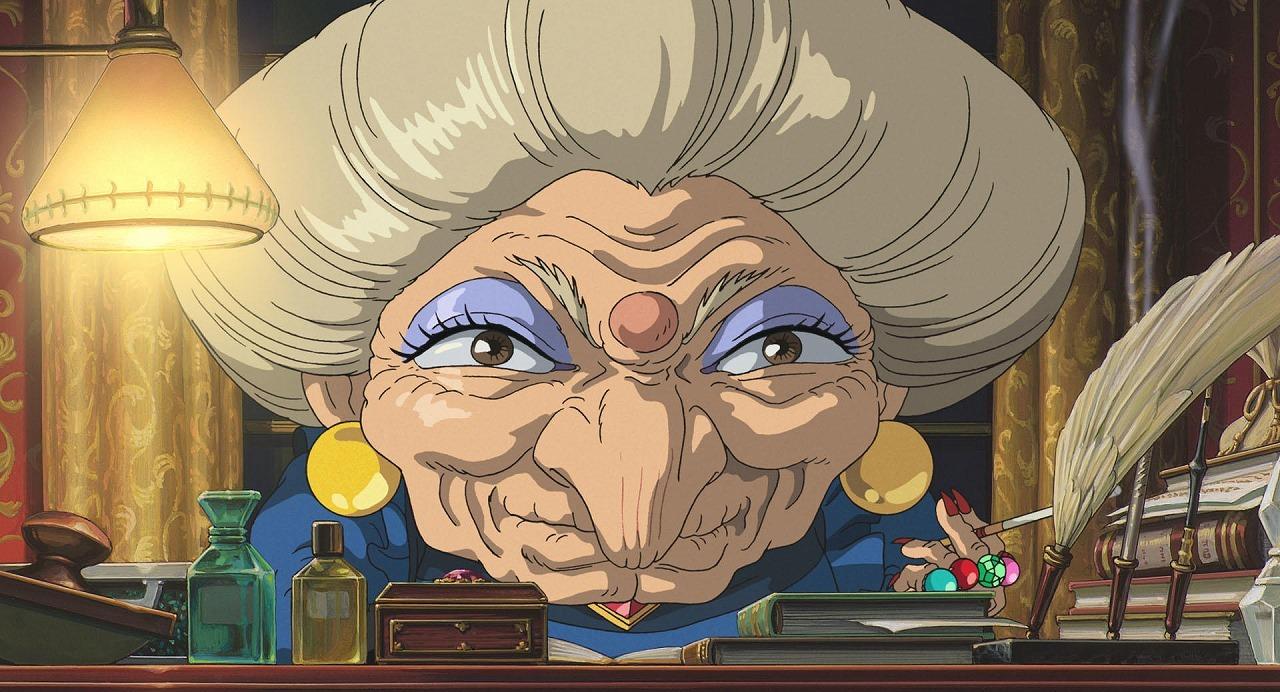 湯婆婆  (C)2001 Studio Ghibli・NDDTM