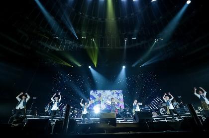 """天月-あまつき-、10年間の""""軌跡""""が詰まった初の大阪城ホール単独公演 オフィシャルレポート到着"""