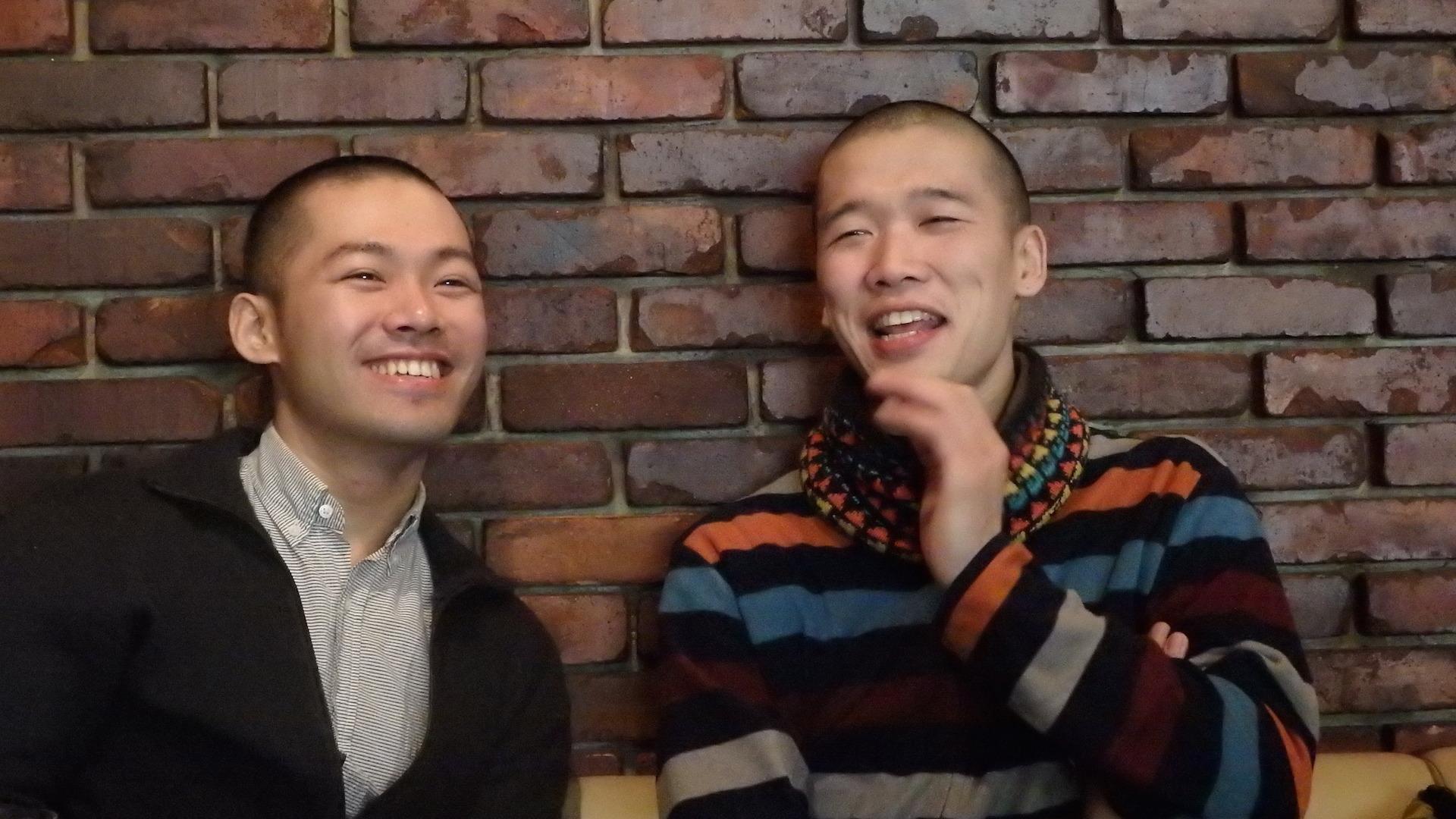 YURI(左)と渡邉尚