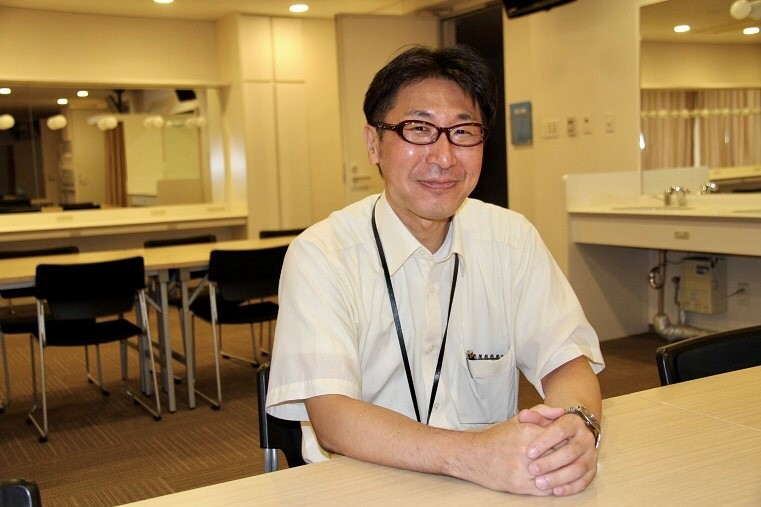 フェスティバルホール支配人 磯部吉孝    (C)H.isojima