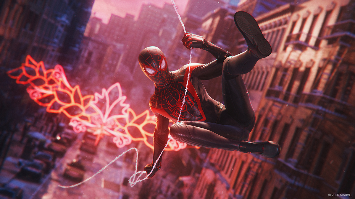 『Marvel's Spider-Man: Miles Morales』 (C)2020 MARVEL (C)Sony Interactive Entertainment LLC. Created and developed by Insomniac Games, Inc.