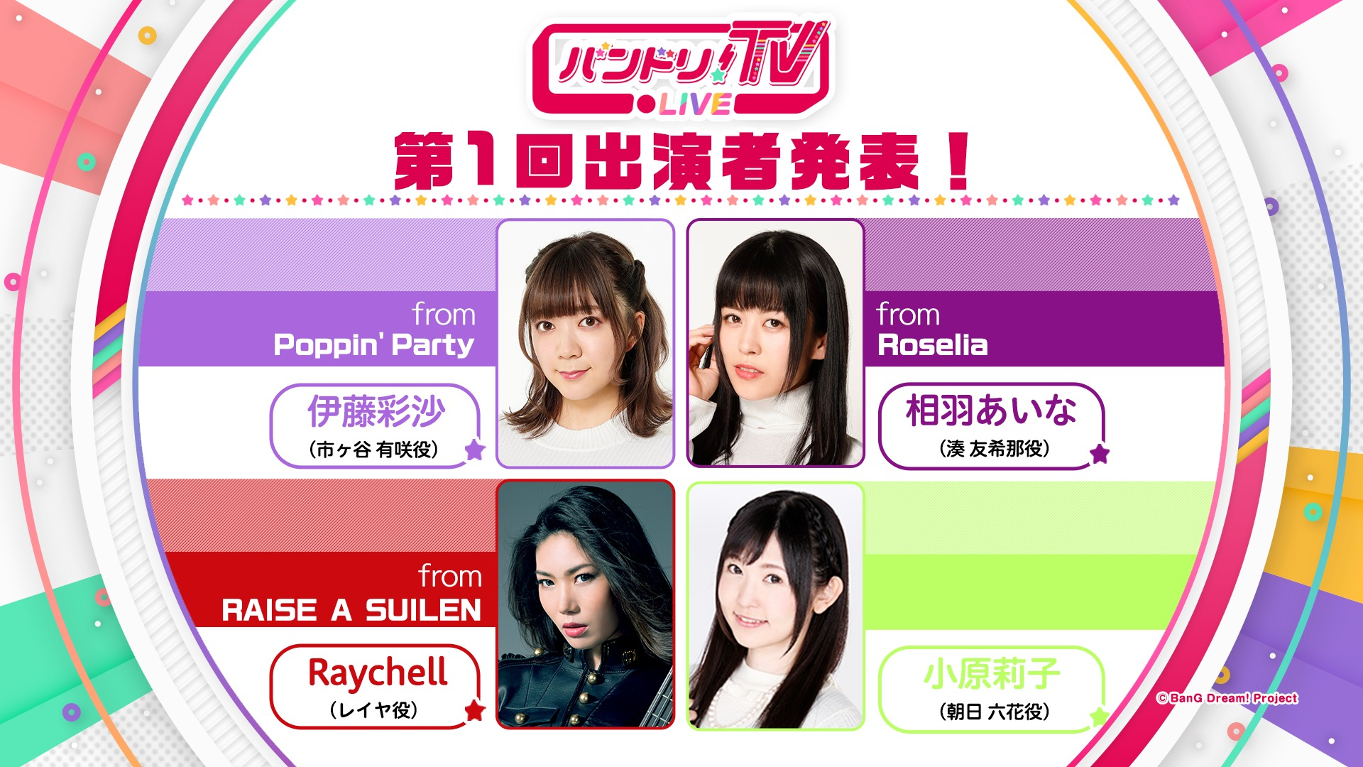 『バンドリ!TV LIVE 2020』 (C)BanG Dream! Project