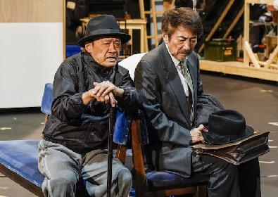開幕目前! 市村正親と鹿賀丈史のW主演ミュージカル『生きる』稽古場レポート