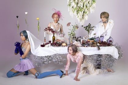 女王蜂 映画『東京喰種【S】』主題歌を担当、「シンクロ率が異様に高く…とにかく聴いて観て頂けたら!と思うばかりです」