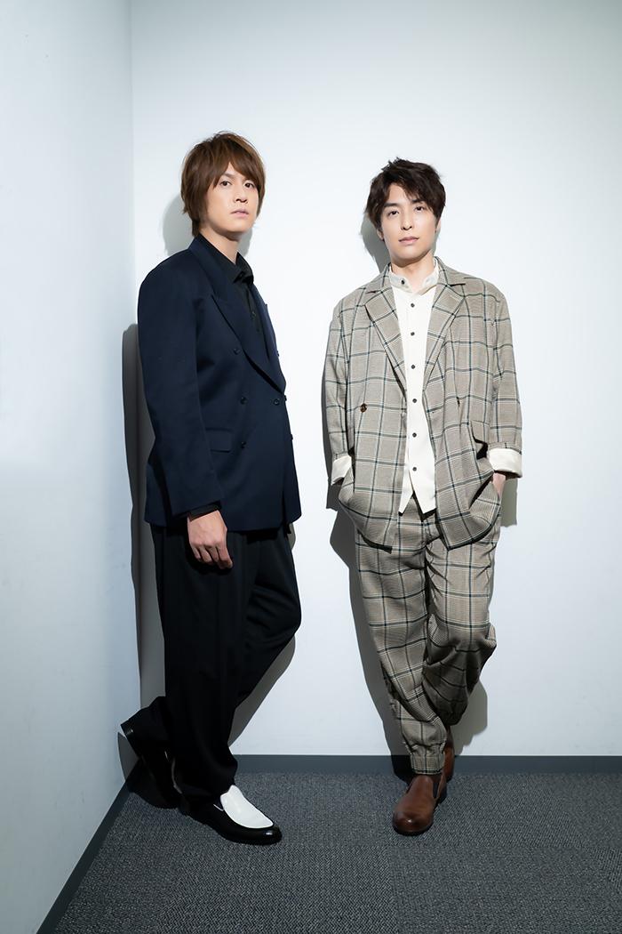 (左から)浦井健治、海宝直人