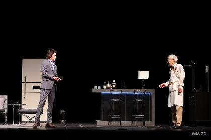 藤原竜也×柄本明 舞台『てにあまる』がいよいよ開幕 舞台写真とキャストコメントが到着