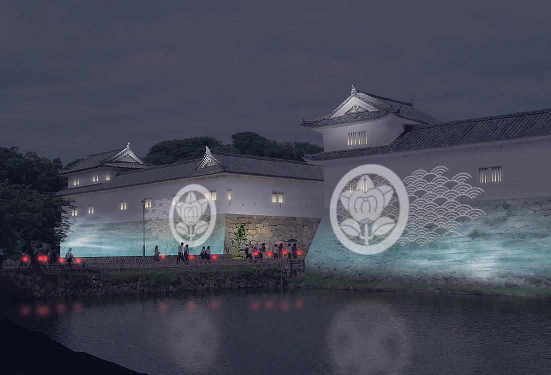 彦根市ライトアップ~城あかり イメージ