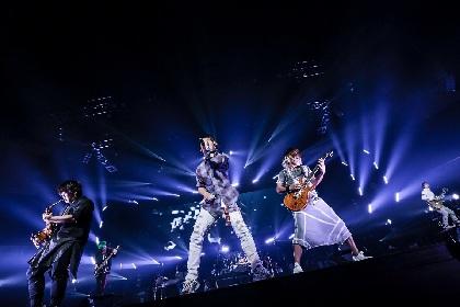 UVERworld 約3年ぶりのアルバム携えたツアー最終日「こんな最高の一体感、見たことない!」