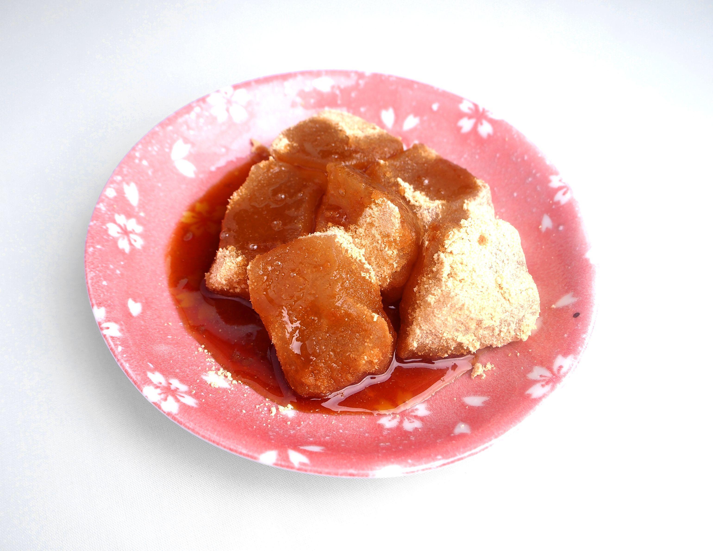 藤堂平助のお祭りわらび餅