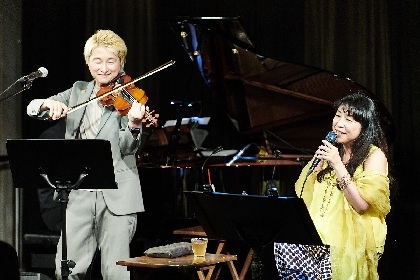 """バイオリニスト・NAOTOが贈る""""一点物""""の特別ライブ、小野リサを迎えた第一夜レポート"""