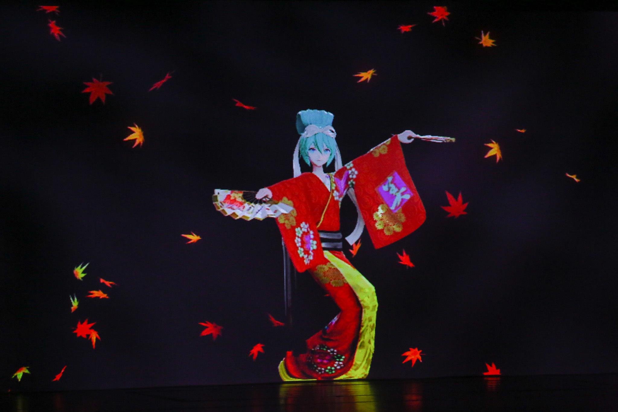 『當世流歌舞伎踊』 (C)NTT・松竹P/(C)超歌舞伎/(C)CFM