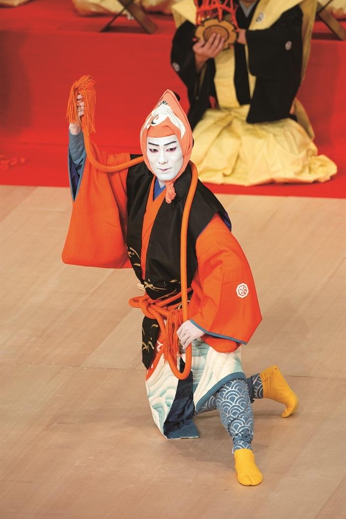 『猿若江戸の初櫓』猿若=中村勘九郎(平成29年2月歌舞伎座) /(C)松竹