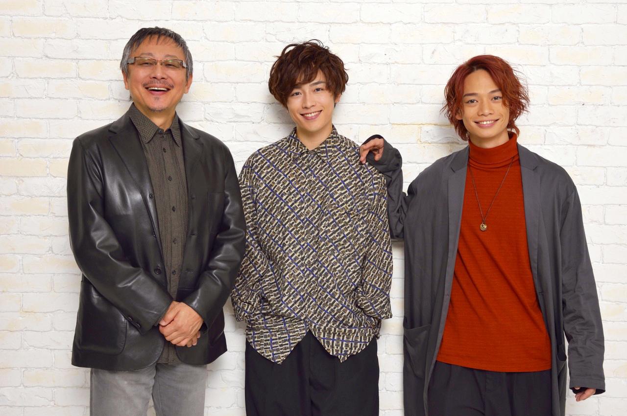 (左から)松尾貴史、鈴木勝吾、池田純矢