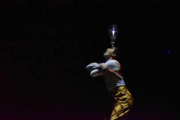 『ダイハツ キュリオス』東京公演公開リハーサルの様子  撮影=五月女菜穂