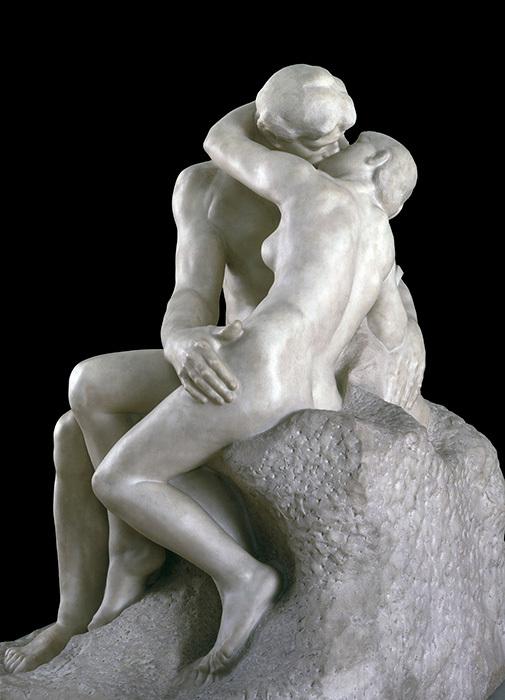 オーギュスト・ロダン『接吻』(部分)1901-4年 Tate:  Purchased with assistance from the Art Fund and public contributions 1953,image ©Tate, London 2017