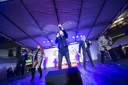ペンタトニックス、Official髭男dismの「Pretender」カバーを初披露! 1,500人が詰めかけた一夜限りの来日記念イベント