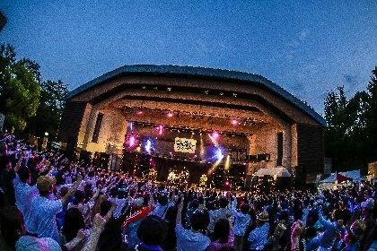 夏の訪れを告げるプレイベント『RUSH BALL☆R』が大阪城野外音楽堂で今年も開催