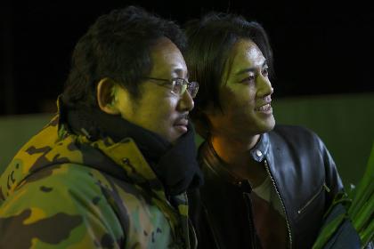 大森南朋、鈴木浩介、桐谷健太がトリプル主演 映画『ビジランテ』のメイキング写真&応援コメントが解禁