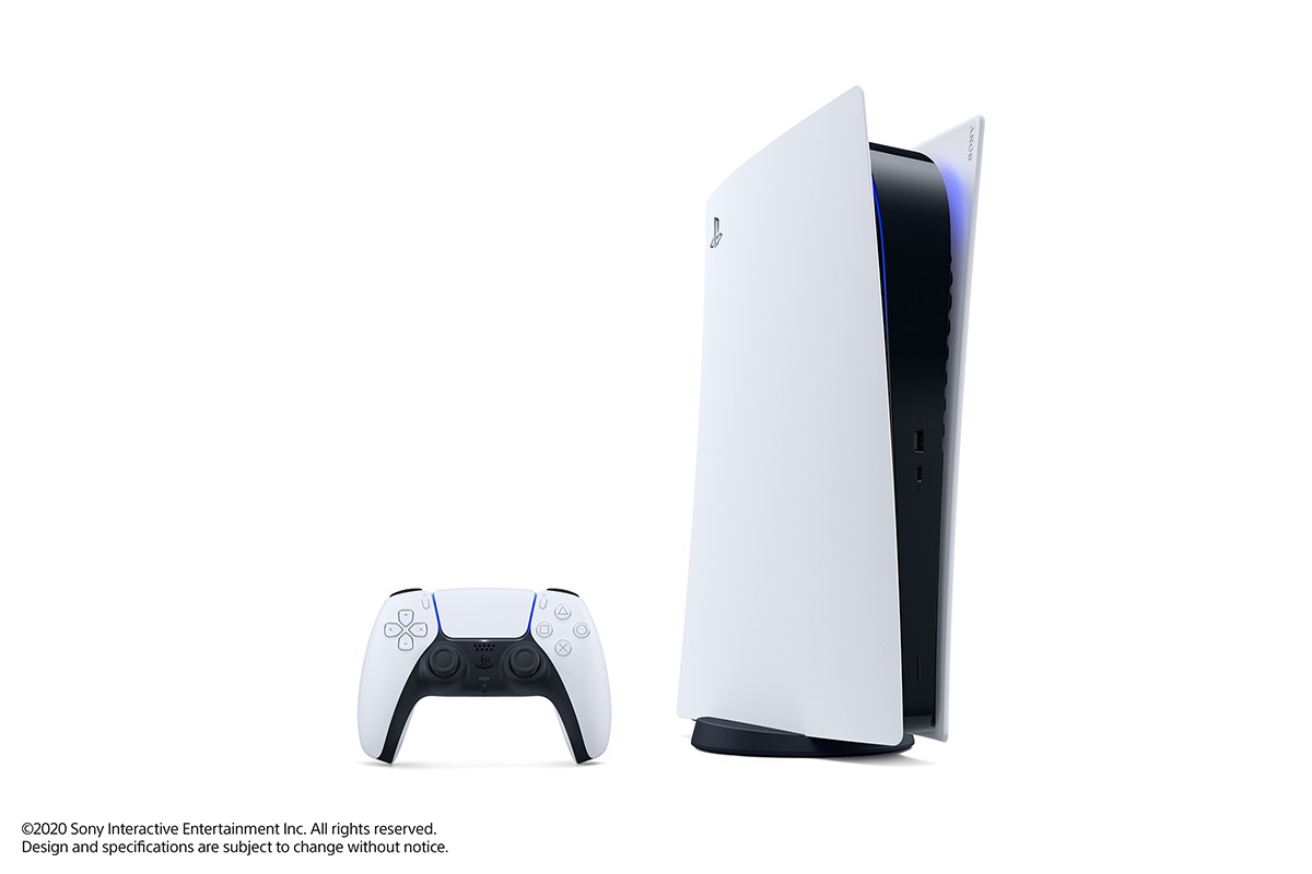 PlayStation5 デジタル・エディション (C)Sony Interactive Entertainment Inc. All rights reserved. Design and specifications are subject to change without notice.