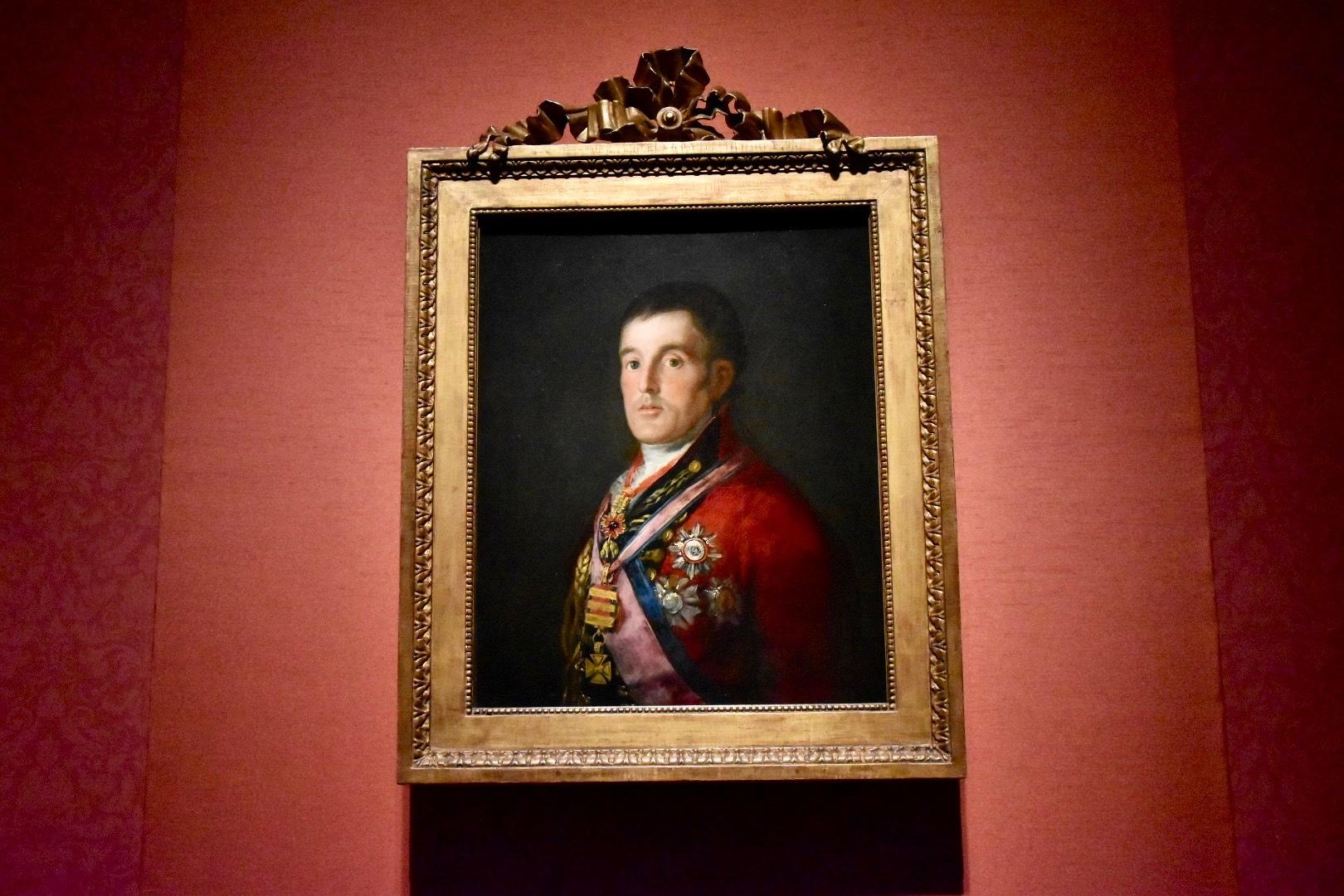 フランシスコ・デ・ゴヤ《ウェリントン公爵》1812-14年