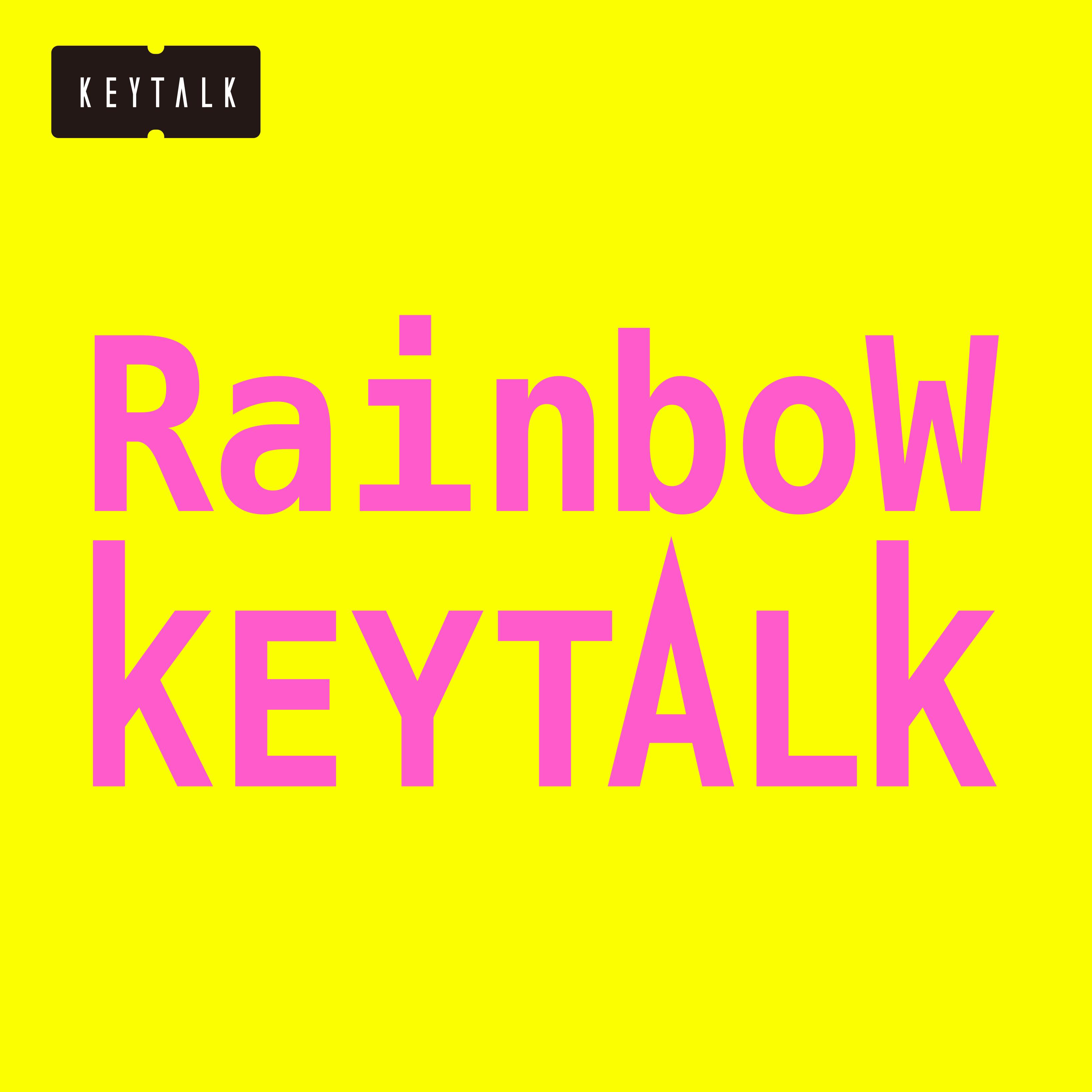 KEYTALK『Rainbow』通常盤