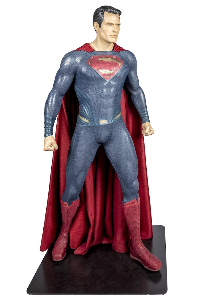 BatmanVSuperman Dawn of Justice 2016 Superman Costume worn by Henry Cavill TM & (C) DC Comics. (s21)