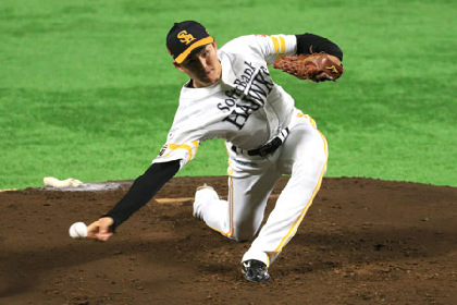 ホークス高橋が侍ジャパン入り! 日米野球での快投に期待