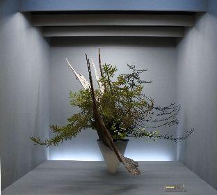 東北地区最大級のいけばな展『いけばなの根源池坊展 仙台花展』 「十人十彩」をテーマに、約350作品を披露