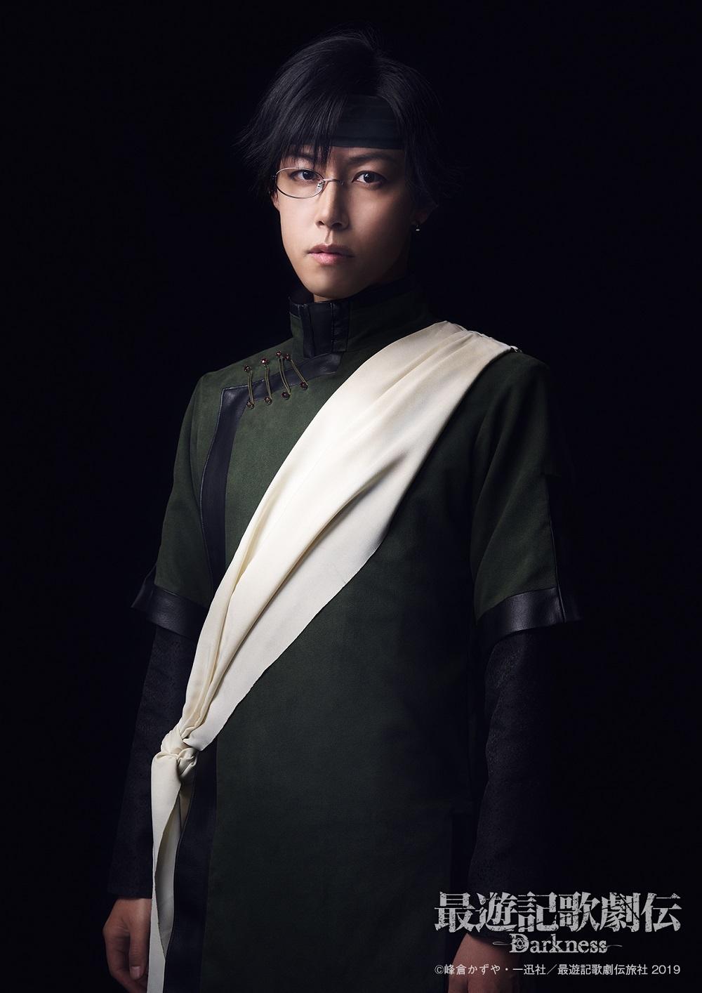 猪 八戒役:さいねい龍二  (C)峰倉かずや・一迅社/最遊記歌劇伝旅社 2019