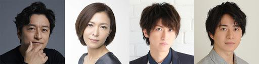 左より)石丸幹二、安蘭けい、相葉裕樹/村井良大(ダブルキャスト) (C)ホリプロ