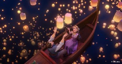 ディズニー・アート展に『塔の上のラプンツェル』を題材にしたインスタレーションが登場 制作はチームラボ