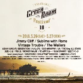 『GREENROOM FESTIVAL』第4弾発表でアジカン、ハナレグミ、ヴィンテージ・トラブルら25組