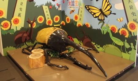 記念写真コーナー (c)大昆虫展実行委員会