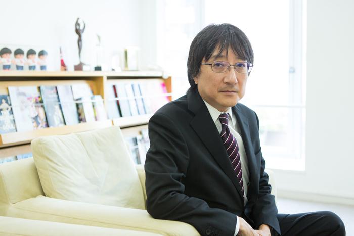 堀義貴・株式会社ホリプロ代表取締役社長 (写真撮影:敷地沙織)