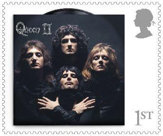 クイーンの切手が発売決定