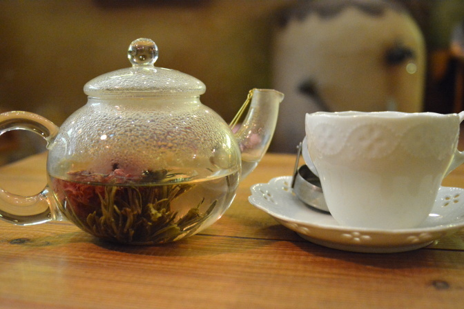 「花さか娘」(中国茶)