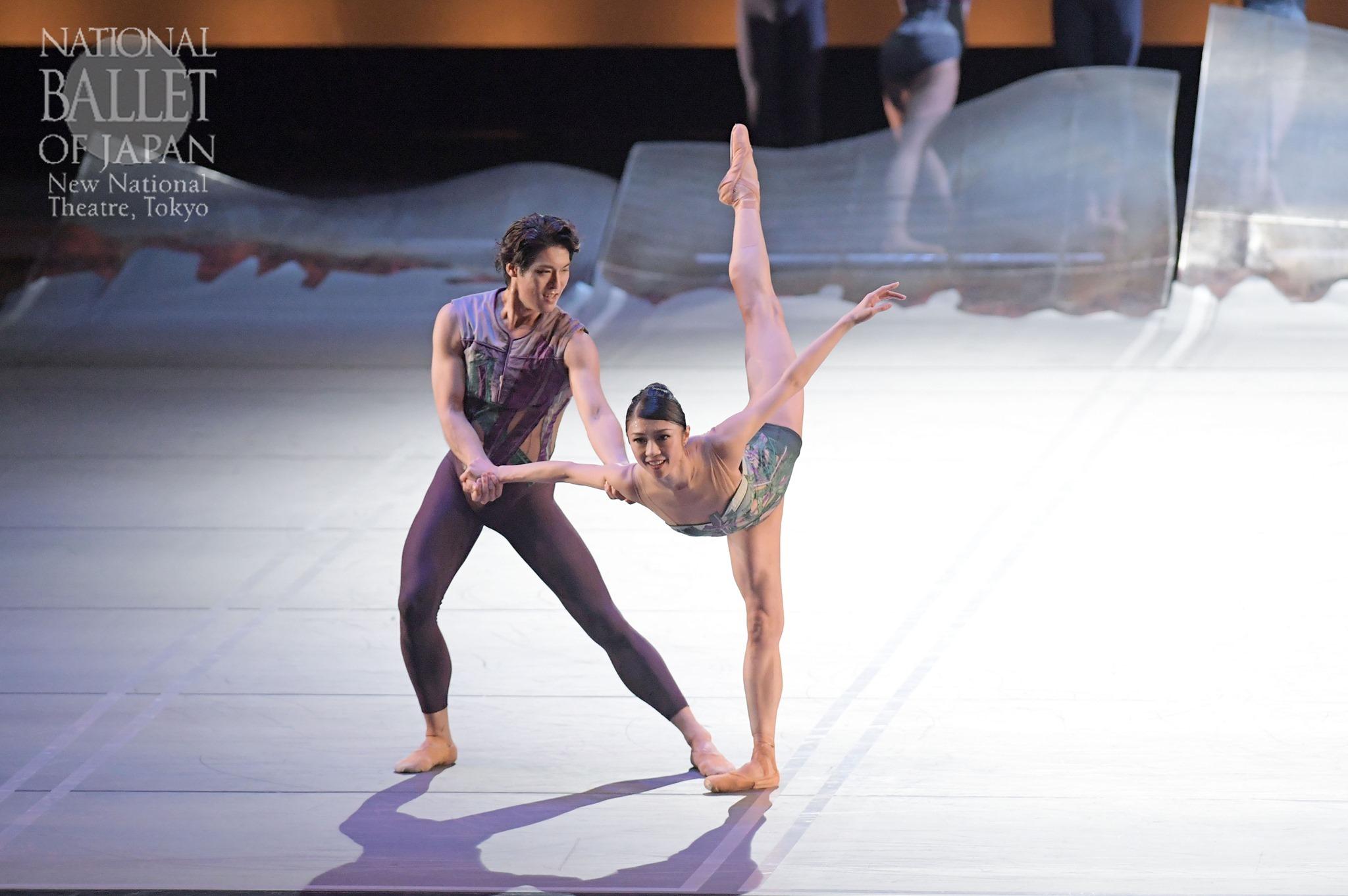『DGV Danse à Grande Vitesse ©』寺田亜沙子、福岡雄大(撮影:鹿摩隆司/写真提供:新国立劇場)