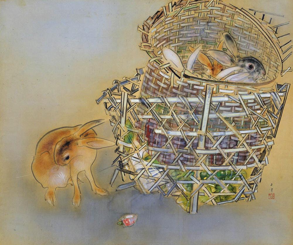 西村五雲《園裡即興》  主催:京都市、美術館「えき」KYOTO、京都新聞