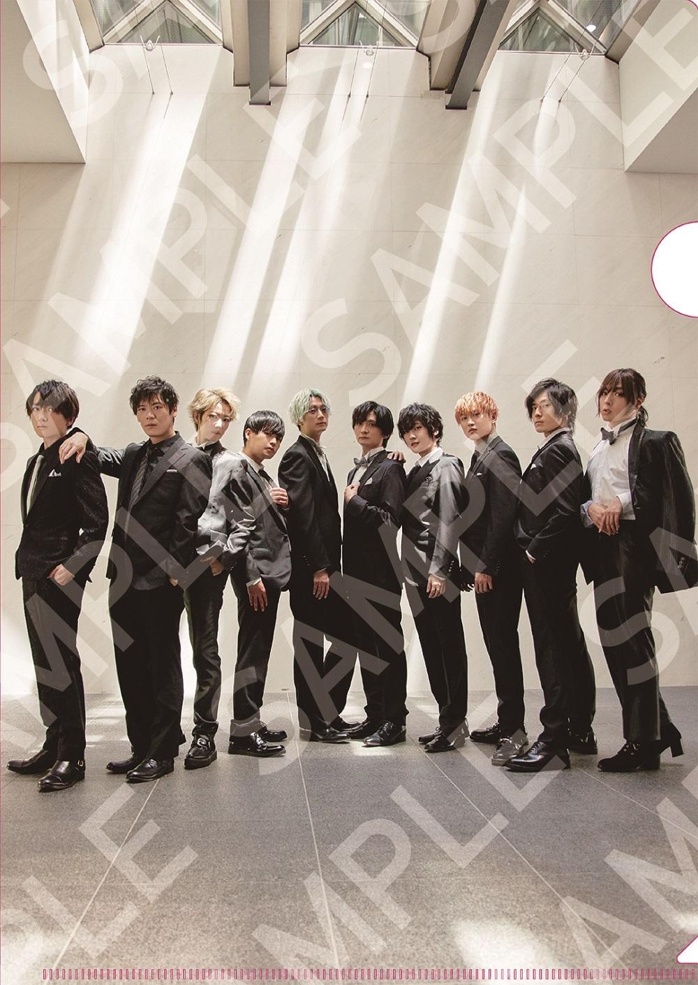 「TVガイドVOICE STARS vol.19」アニメイト購入特典クリアファイル(表)