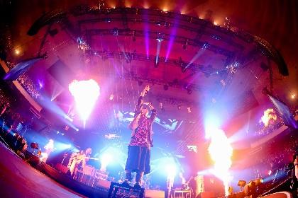 THE ORAL CIGARETTESが武道館ワンマンを初のライブ映像作品としてリリース